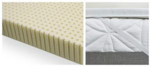 An EverEden All Natural Talalay Latex Topper on a Serta i-Comfort Extra Firm Mattress Causing Back Pain.