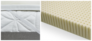 Latex Mattress Topper for a Sleep Number Bed causing Hip, Back and Shoulder Pain.