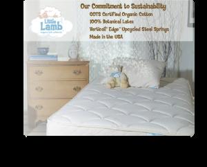 Organic Latex Mattress for a child