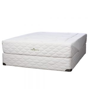 Natura of Canada Greenspring Plush Mattress is Compatible with Any Adjustable Bed Base.