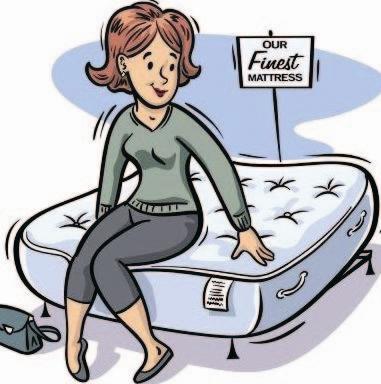 Shopping for a mattress