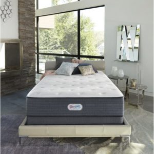 "Simmons Beautyrest World Class Mattress and 3"" Talalay Latex Topper."