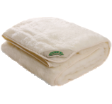 Natura Reversible Wool on Top Mattress Pad
