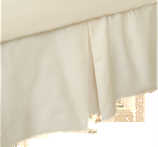 Natura Baby Bedding Organic Crib Skirt