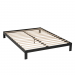Wolf Corp. Basic Black Platform Bed Base